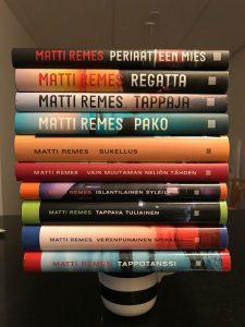 Kirjailija Matti Remes